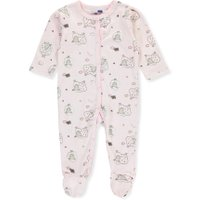 Vitamins Baby Baby Girls' Footed Coverall - pink, 6 months